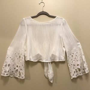 New With Tags Moon River White Top